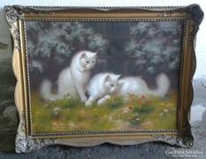 Bolerádszky Benő - Angóra macskák