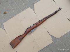 Rákosi kori Nagant M44 puska hatástalanítva