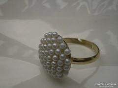 Apró teklás gyűrű olcsón!