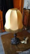 Antik Bronz Asztali Lámpa