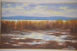 Makray János (1955): Őszi Balaton