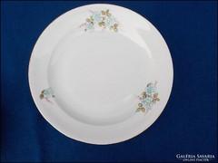 Zsolnay vadrózsás lapos tányér főfogáshoz