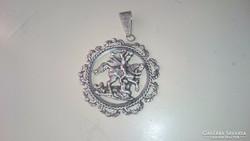 Ezüst Szent György medál