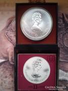 1974 Kanada ezüst 10 dollár-48,6 gr 0,925 ere.tok!