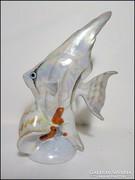 Kézzel festett Drasche vitorlás szivárványos hal