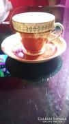 Teáscsésze aljjal