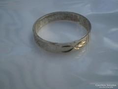 925-ös jelzésű  vésett gyűrű olcsón