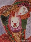 WAHIDA-B.Tóth Irisz festmény