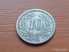 AUSZTRIA OSZTRÁK 10 HELLER 1915