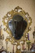 Antik Florentin keretes tükör