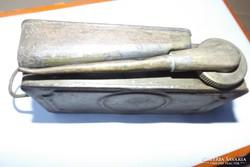 Antik I.vhs Schwarzlose 1902 gépfegyver olajzó olajos kanna