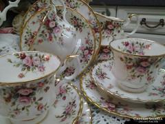 Royal Albert Cottage Garden 6szem. Angol teás/kávés/sütis!