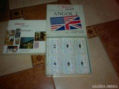 Angol könyv,kazetták