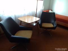 2 db Retro fotel + 1 db Retro asztal
