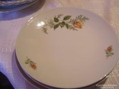 Csodaszép  sárga rózsás 24 cm  3 darab tányér