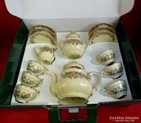 Zsolnay teáskészlet antik darabok nem használt