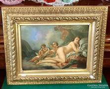 19. Századi Romantikus Hangulatú Festmény