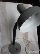 Retro Szarvasi asztali lámpa , gégecsöves olvasólámpa
