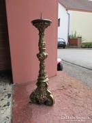 Antik barokk bronz álló gyergyatartó 50x35cm