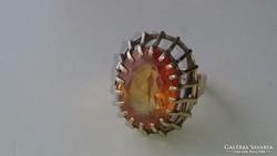 Arany 14 karátos gyűrű (TOPÁZ)