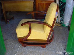 ART  deco  fotel  parban