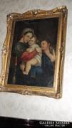 Madonna a Gyermekkel Antik festmény
