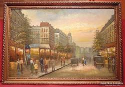 Berkes Antal / 1900-as eleji Bp életkép