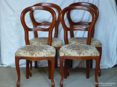 Bidermaier 4 darab szék