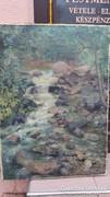 Tájkép patakkal - Alkotó: Ismeretlen ( Szignó nélkül )