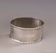 Ezüst szalvétagyűrű