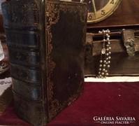 Karoli Biblia. 1747. Ultrecht. Ritkaság ragyogó állapotban!