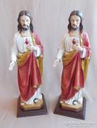 Jézus asztali szobor 2 darab!