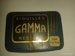 Gamma gramofontű dobozban