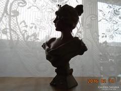 E.Villanis(1858-1914):LUCRESE-szecessziós szobor