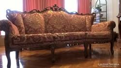 Olasz stil ülőgarnitúra