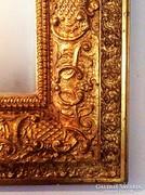 Neobarokk aranyozott tükör