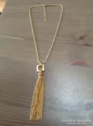 Régi eredeti Christian Dior arany színű nyaklánc