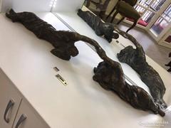 Kalmár Márton bronz szobor: Vágyódás