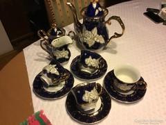 Csodás shanghai porcelán teás, 4 személyes