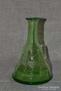 Zöld üveg  ( szakított aljú )  ( 0021 )