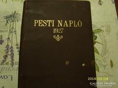 PESTI NAPLÓ 1927-28-30 évekből