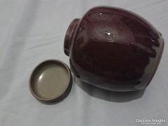 Különleges japán kerámia gyömbér tartó, kínai teatartó