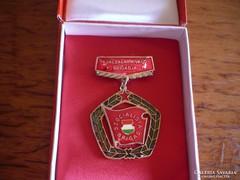 Kiváló brigád kitüntetés