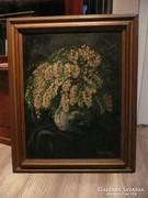 Tímár József olaj festménye szép keretben 77*62 cm