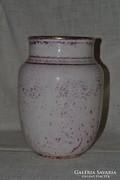 Régi nagy méretű Kispesti porcelán váza ( 20/21 )