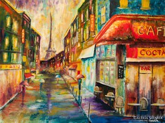 Párizs színei  Festmény
