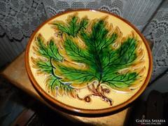 Antik majolika tányér - dísztányér