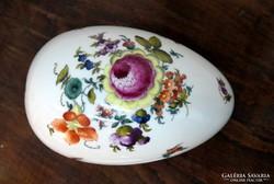 Herendi tojás alakú bonbonnier