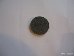 Németország 5 Pfennig 1941 B.