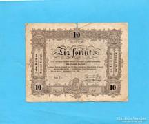 Kossuth 10 forint 1848